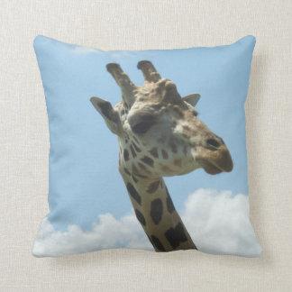 Giraffe Pillow Animal Kingdom Orlando Florida Throw Cushion