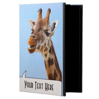 Giraffe Portrait custom cases Cover For iPad Air