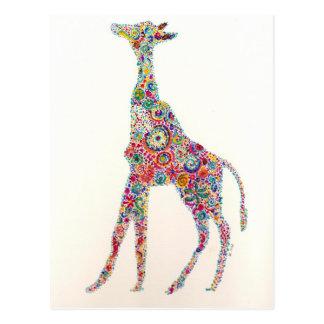 Giraffe Postcards