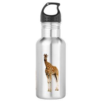 Giraffe Princess, Aluminum Drink Water Bottle 532 Ml Water Bottle
