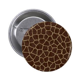 Giraffe Print Pin