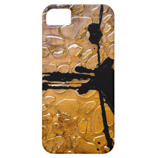 Giraffe Print by Abstract Artist Holly Anderson iPhone 5 Case