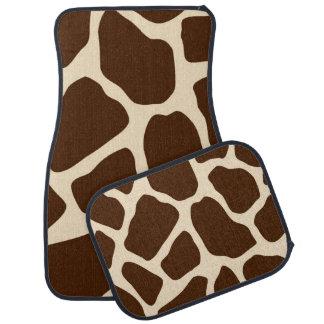 Giraffe Print Car Mat