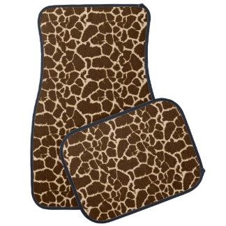 Giraffe Print Design Car Mat
