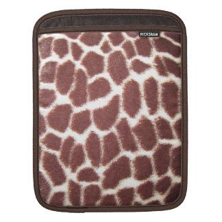 Giraffe Print Sleeves For iPads