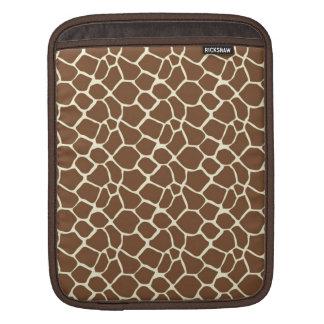 Giraffe Print iPad Sleeve