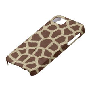 Giraffe Print iPhone 5 Case