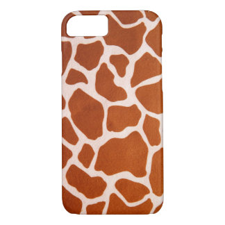 Giraffe Print iPhone 7 Case