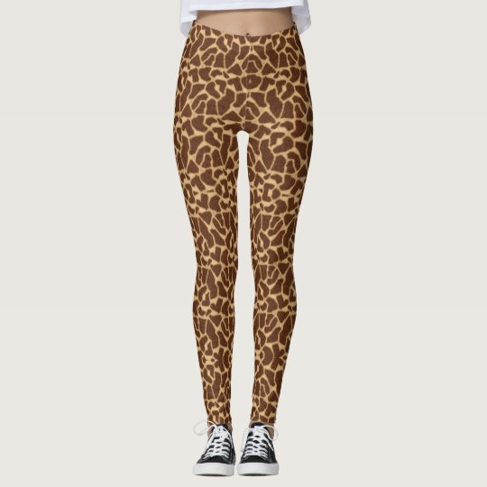 Giraffe Print Leggings
