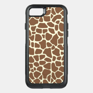 Giraffe print OtterBox commuter iPhone 8/7 case