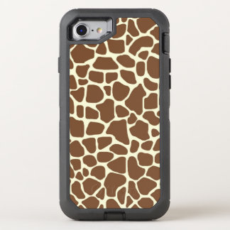 Giraffe print OtterBox defender iPhone 8/7 case