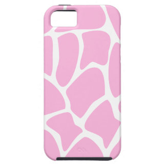 Giraffe Print Pattern in Candy Pink. iPhone 5 Cover