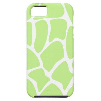 Giraffe Print Pattern in Light Lime Green. iPhone 5 Case