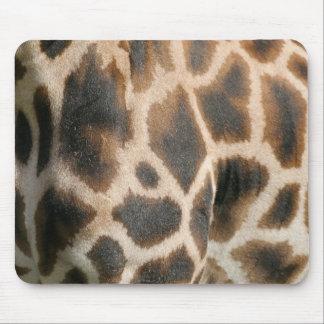 Giraffe Print Pattern Mouse Pad