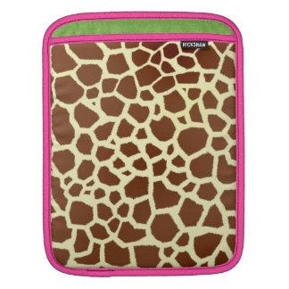 Giraffe Print Rickshaw Sleeve iPad Sleeve