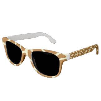 giraffe print sunglasses