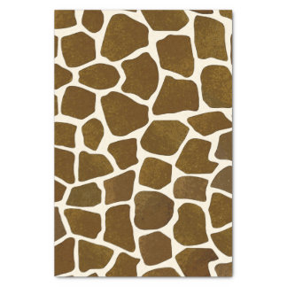 Giraffe Print Tissue Paper