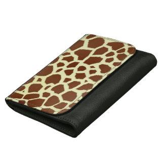 Giraffe Print Wallet
