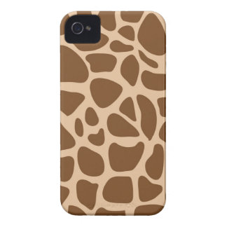 Giraffe Print Wild Animal Patterns Gifts for Her iPhone 4 Cover