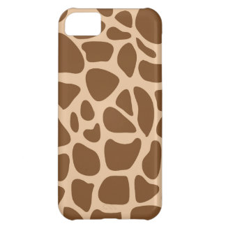 Giraffe Print Wild Animal Patterns Gifts for Her iPhone 5C Case