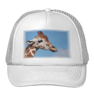Giraffe Profile Baseball Hat