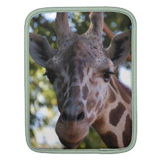 Giraffe Rickshaw Sleeve iPad Sleeve