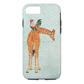 Giraffe & Rooster iPhone 7 case