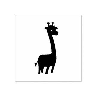 Giraffe Rubber Stamp