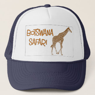 Giraffe Safari Botswana Cap