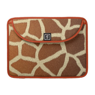 giraffe skin animal fur fun sleeve for MacBooks