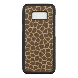 Giraffe Skin Carved Samsung Galaxy S8 Case