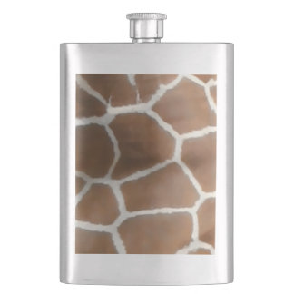 GIRAFFE SKIN HIP FLASK