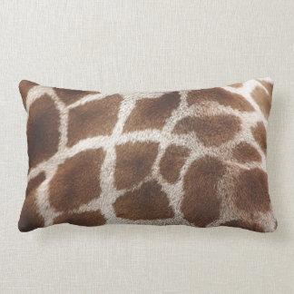 Giraffe Skin Lumbar Cushion