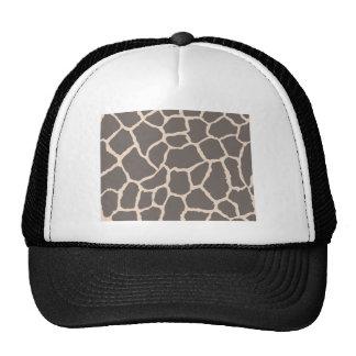 Giraffe Skin Pattern Cap