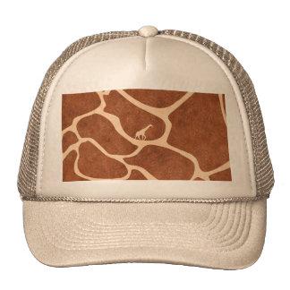 Giraffe Skin Pattern Surface Stains Lines Trucker Hat