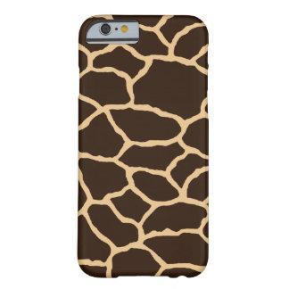 Giraffe Skin Print Pattern iPhone 6/6s Case