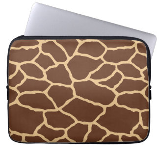 Giraffe Skin Print Pattern Laptop Sleeve