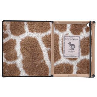 Giraffe Spots iPad Covers