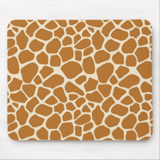 Giraffe Spots Mousepad
