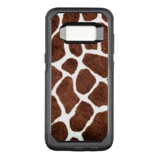 Giraffe spots OtterBox commuter samsung galaxy s8 case