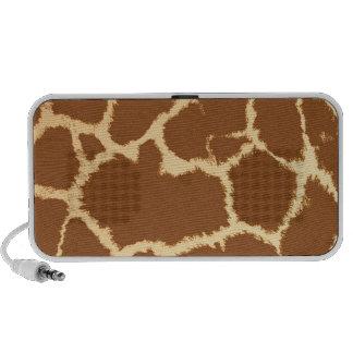Giraffe Spots iPhone Speaker