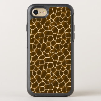 Giraffe Spots Wild Safari Animal Skin Print OtterBox Symmetry iPhone 8/7 Case
