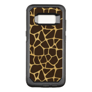 Giraffe Spotted Background OtterBox Commuter Samsung Galaxy S8 Case