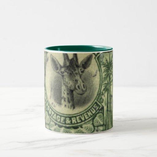Giraffe Stamp Mug