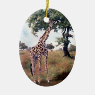 Giraffe Standing Tall Ornament