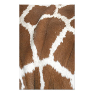 Giraffe Customized Stationery