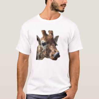 Giraffe Sticking its tongue out T-Shirt