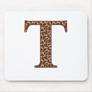 Giraffe T Mouse Pad