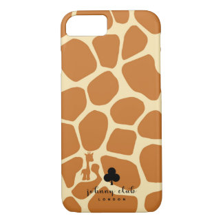 Giraffe (Tan) iPhone 8/7 Case