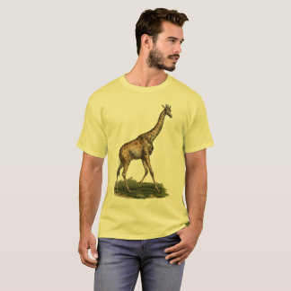 Giraffe Tee for Grown-Up Giraffe Lovers